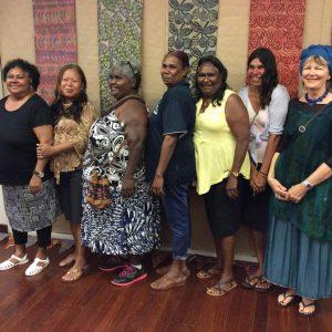 Martha Lee, Marli Green, Susan Chiguna, Maxine Charlie, Roberta Mippy, Lorraine Hunter, Megan Kirwan-Ward